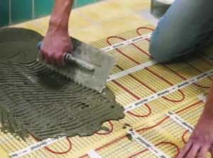 теплый пол под бетон купить